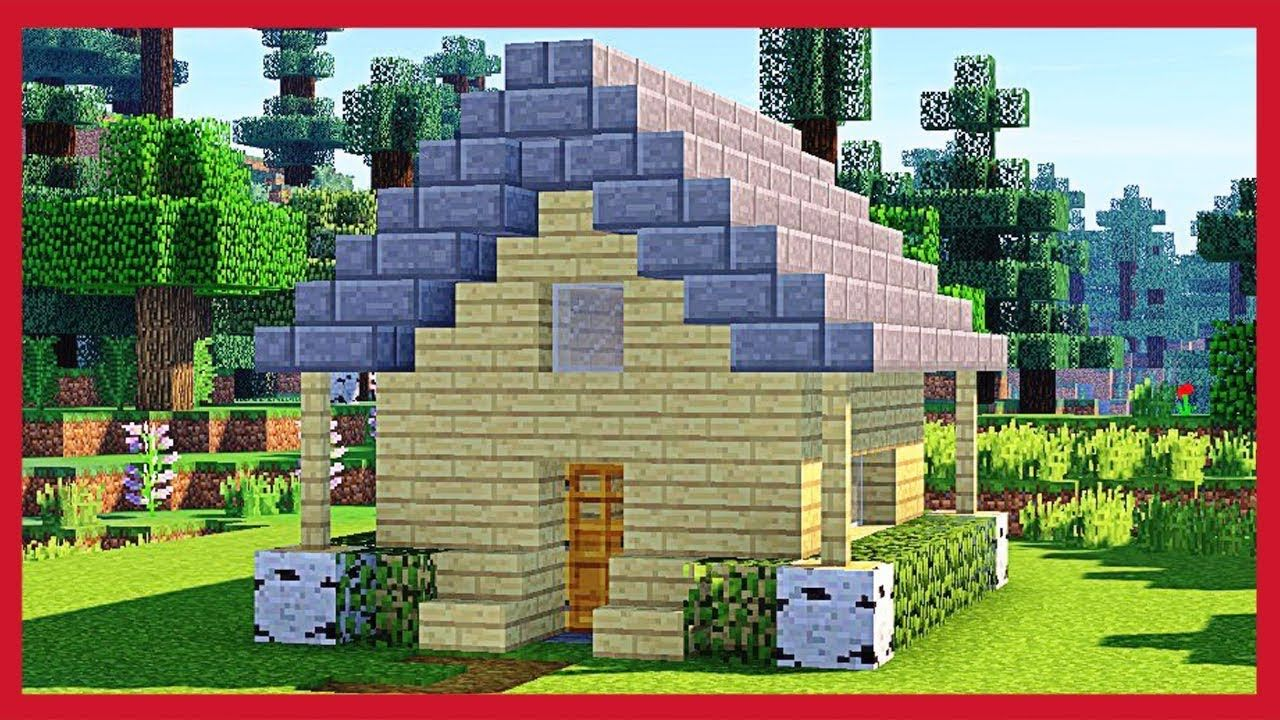 Minecraft Come Fare Una Piccola Casa In Legno Tutorial Minecraft