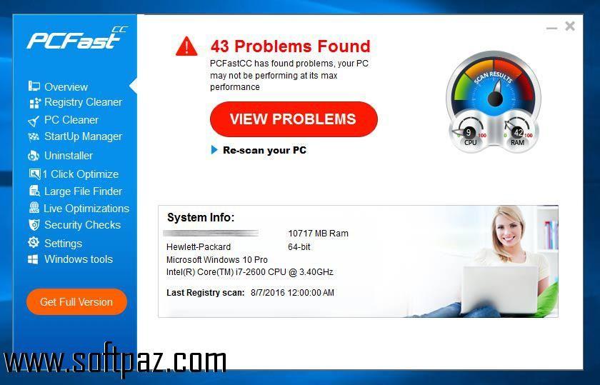 Download PCFastcc setup at breakneck speeds with resume support - resume software download