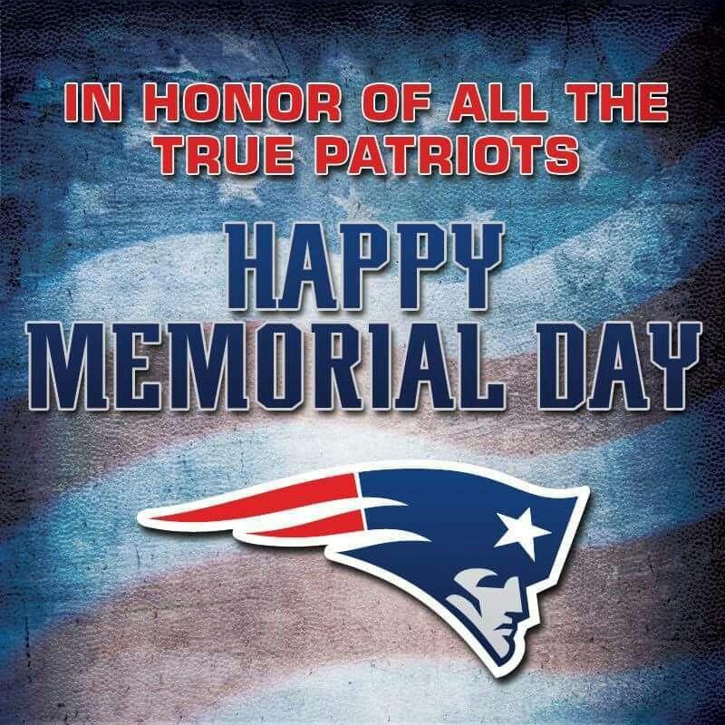 #happymemorialday #patriots