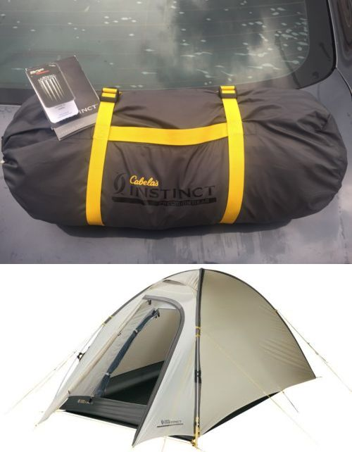 Mattresses and Pads 36114 Brand New Cabela Instinct 2 Person All Season Tent BUY IT  sc 1 st  Pinterest : instinct tents - memphite.com