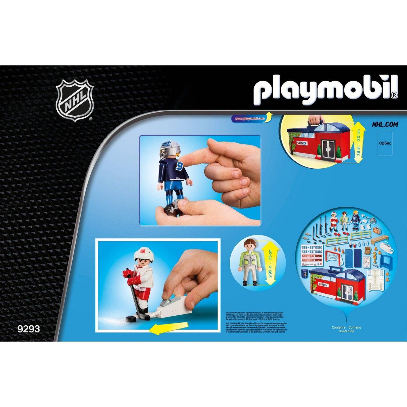 Playmobil Nhl Take Along Arena Sponsored Playmobil Affiliate Nhl Arena In 2020 Playmobil Toys For Boys Nhl