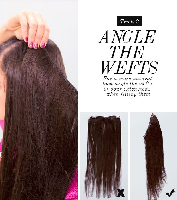 How To Hide Layers Using Layer Blending Weft Hair Extensions