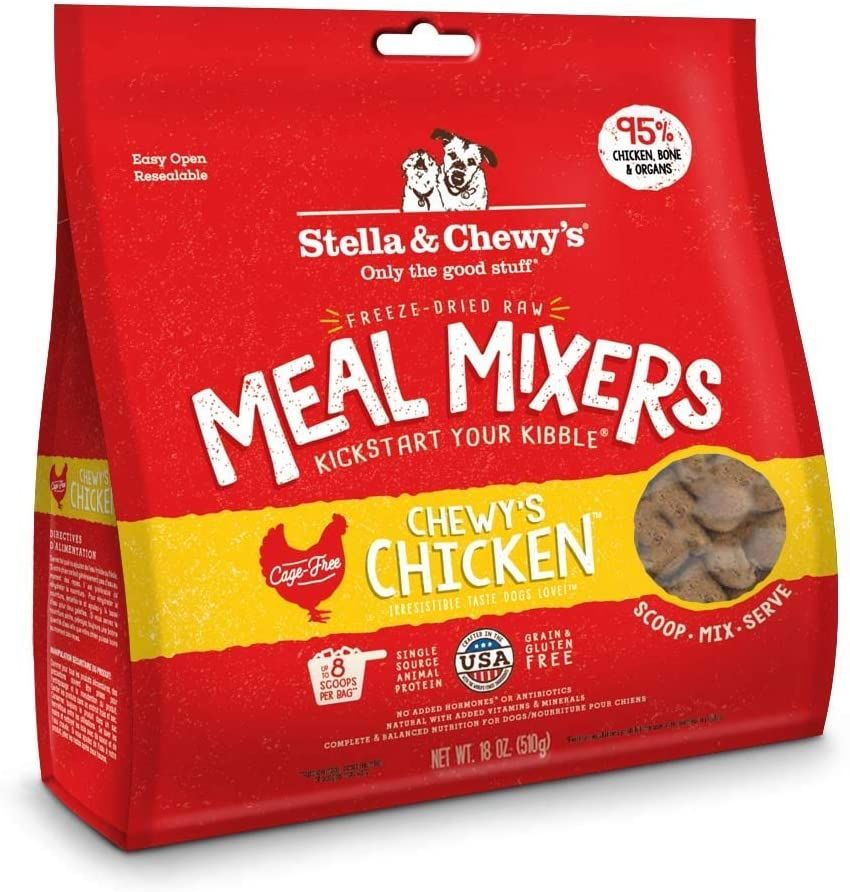Stella and Chewys FreezeDried Raw Chewys Chicken Meal