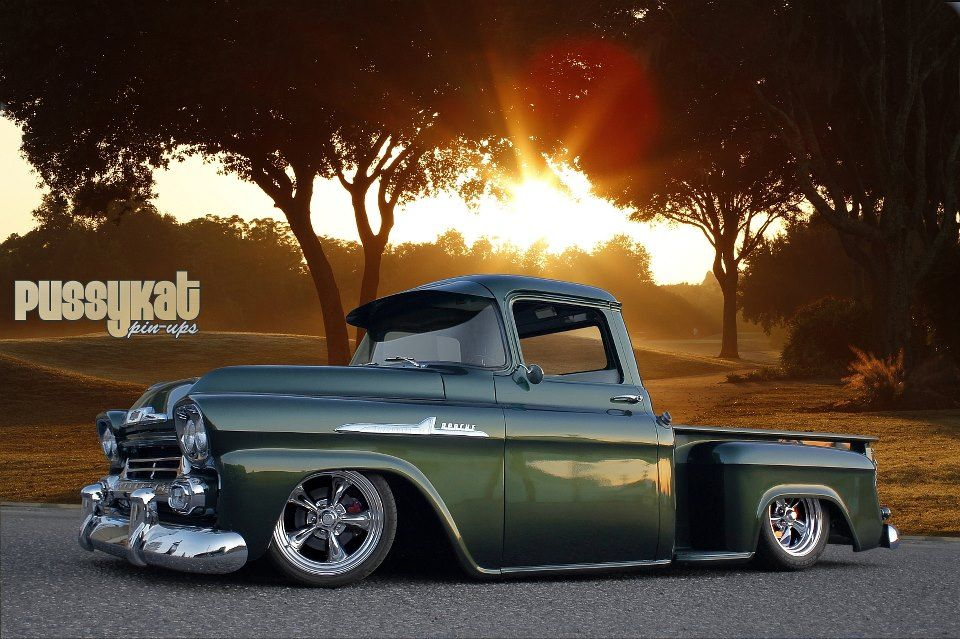 1958 chevy truck! I would absolutely love to rebuild one of these