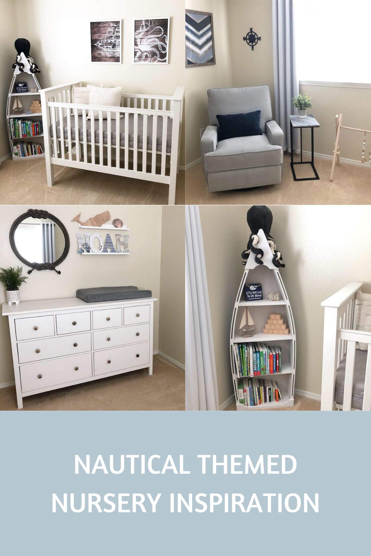 Nautical Baby Boy Nursery Room Ideas: A Nautical Themed Nursery For Our Baby Boy