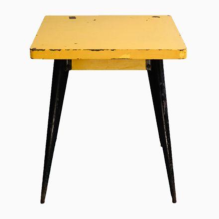 Modell 55 Tisch von Xavier Pauchard für Tolix, 1950er Jetzt - tisch für wohnzimmer