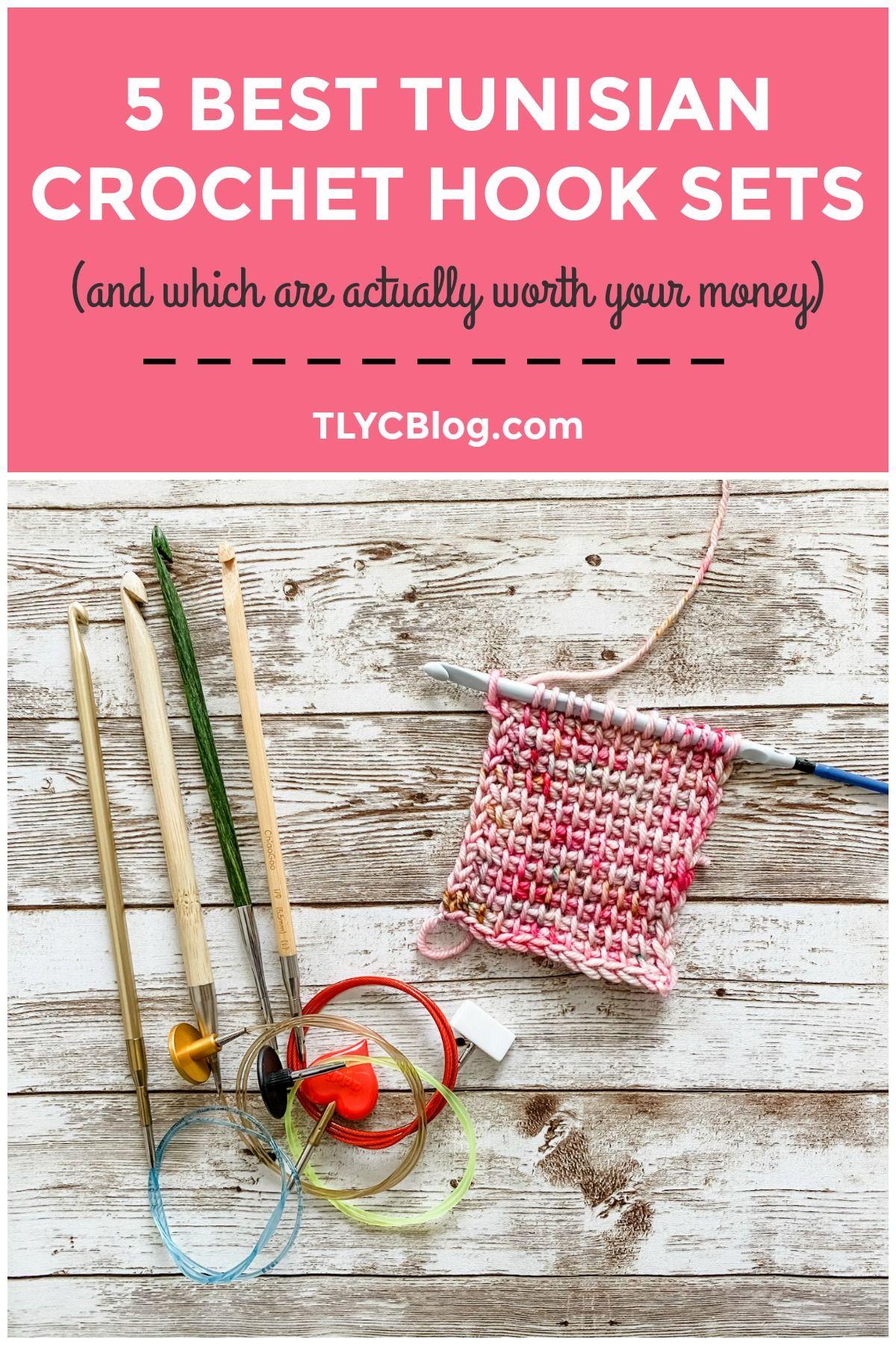 Top 5 Tunisian Crochet Hook Sets - TL Yarn Crafts