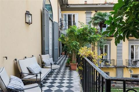 Luxury Apartment Property In Naplesnaples Magnificent Overlooking The Riviera Di Chiaia Milan Sotheby