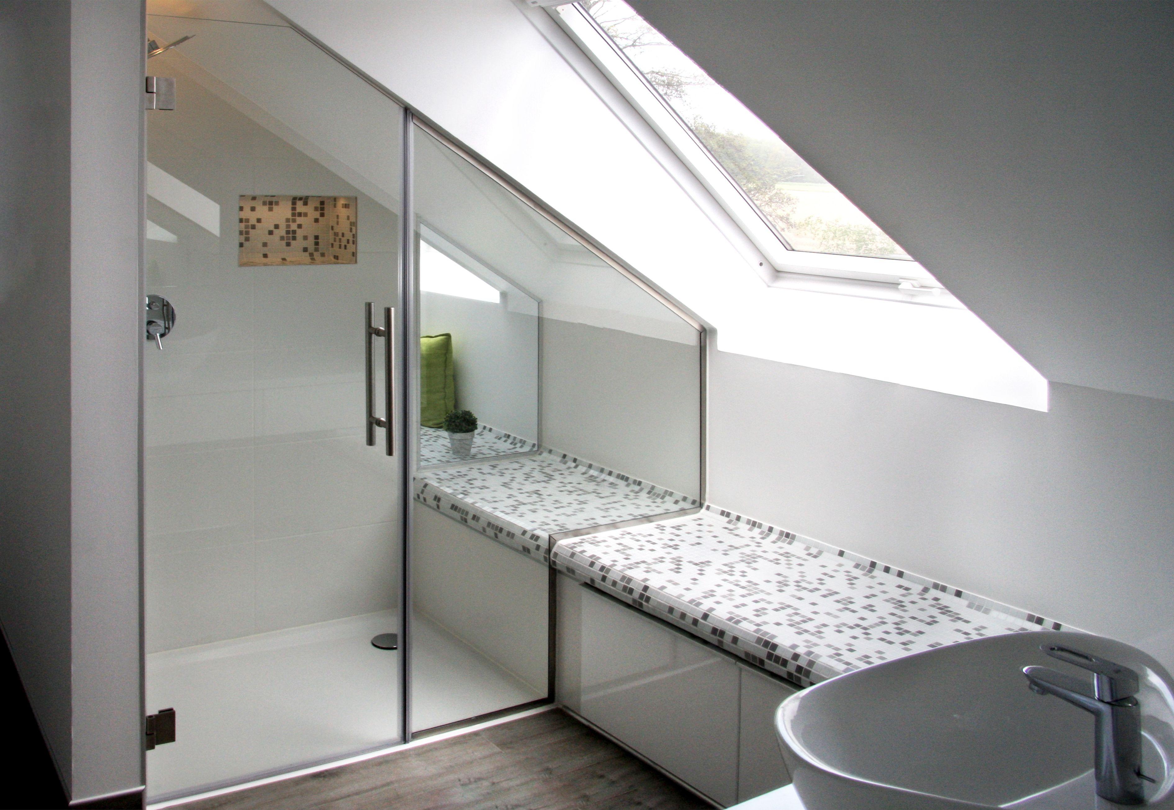 Nischendusche Badezimmer Dachschrage Badezimmer Mit Schrage Badezimmer Dachgeschoss