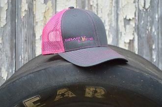 c6daa2aedcc Drag Life Neon Pink Mesh Trucker Hat