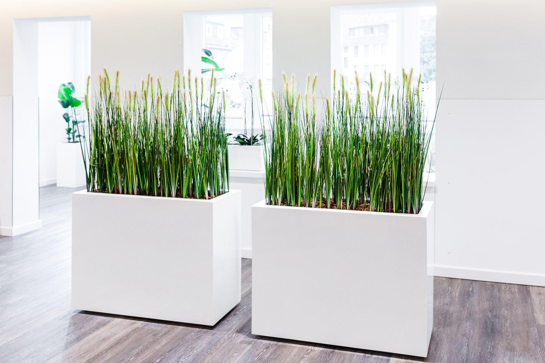 Mobiler Raumteiler Sichtschutz Mit Textil Grasern Raumteiler