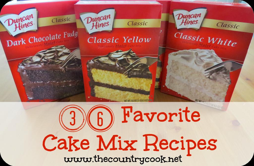 Boxed cake mix recipes lemon