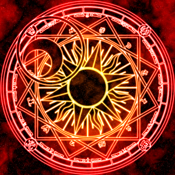 Clow Reed's Magic Circle by Earthstar01 on DeviantArt #magiccircle