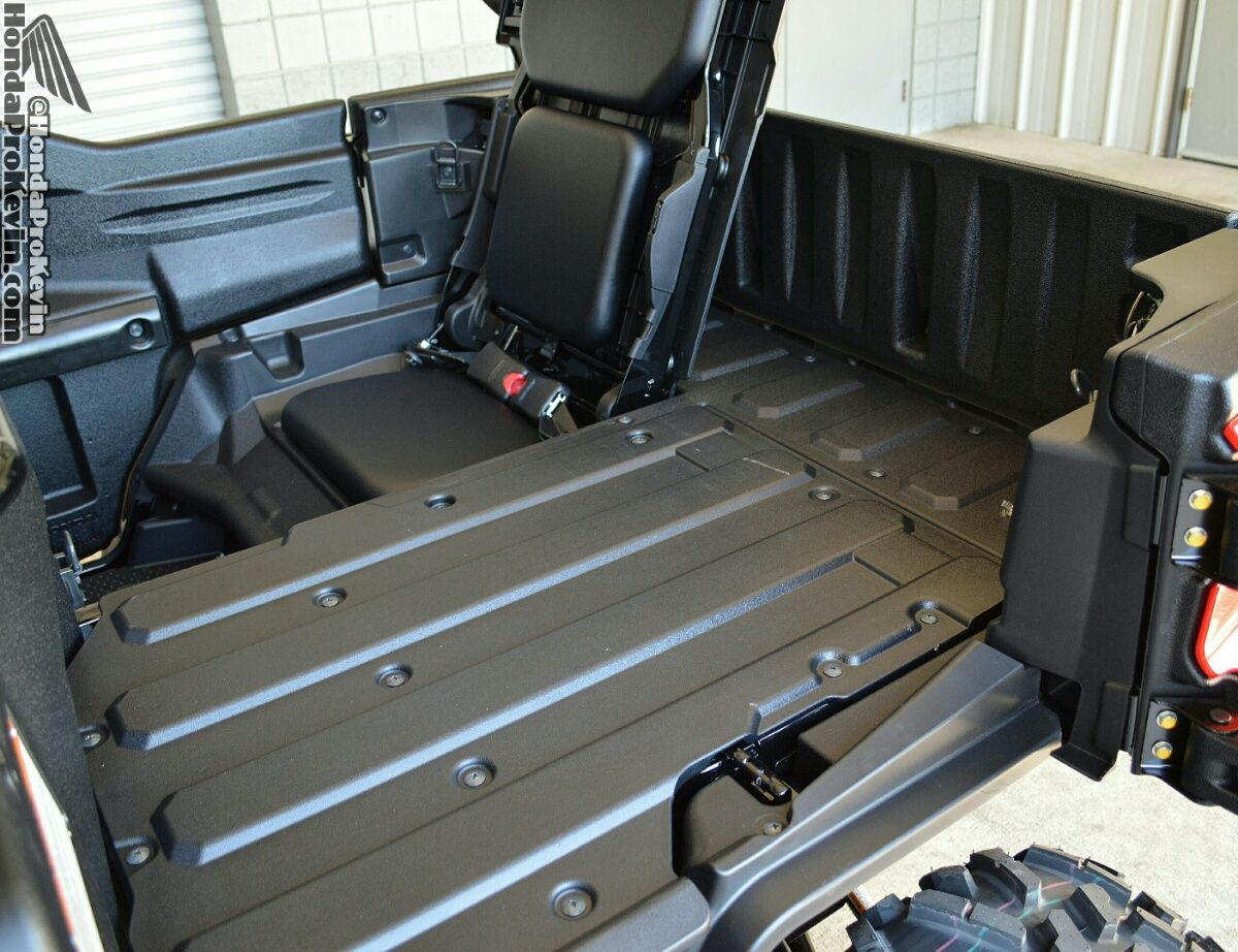 Honda pioneer 1000 5 dump bed all new side by side utv sxs atv utility vehicle review pinterest atv honda and drive review