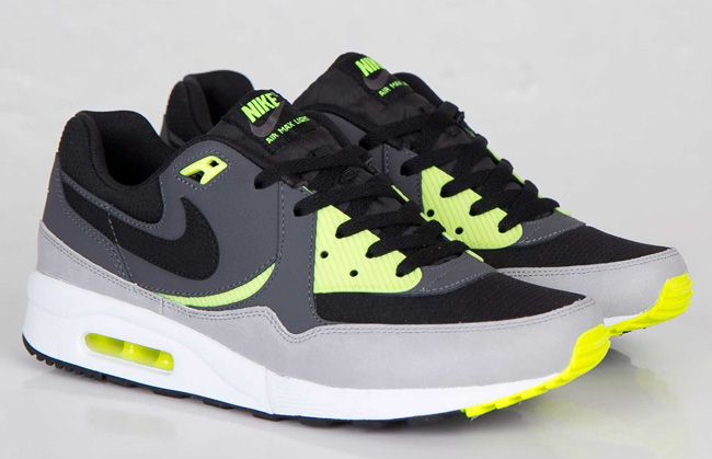 Nike Air Max 1 Youth GS shoes grey neon