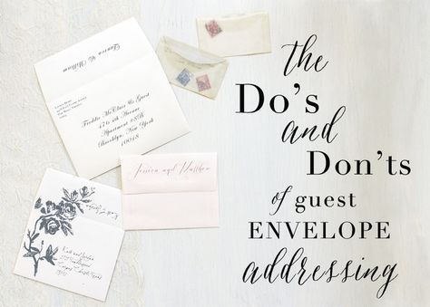 How To Address Your Wedding Invites Addressing Wedding Invitations Wedding Invitation Envelopes Address Wedding Invitation Envelopes