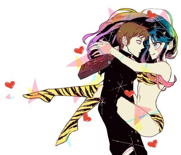 Lum And Ataru Urusei Yatsura