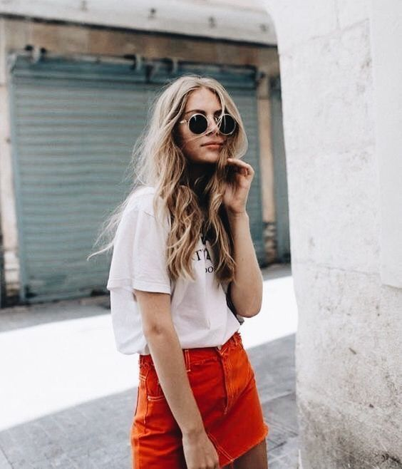 6cf318ab316d8 Vintage summer street style and outfit ideas #summerfashion | แฟชั่น ...