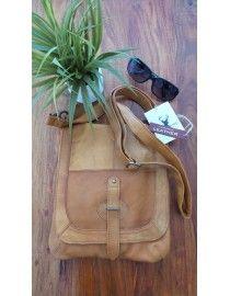 Leather Las Crossbody Broome Tan