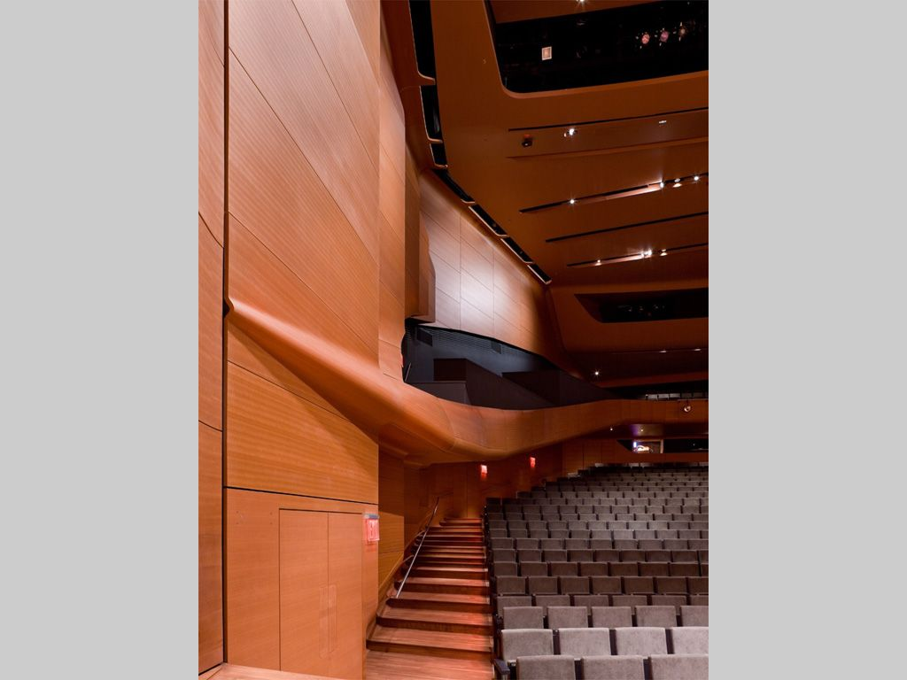 Custom Wood Veneer supported by 3form Advanced Technology Group