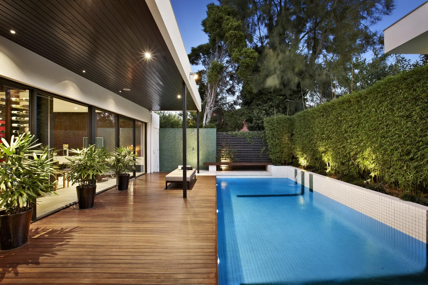 Small Backyard Designs Australia relaxing outdoor space of a house on balaclava road, australia