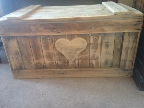 Toy Box, Ottoman, Storage Box - The Laugharne - Free Plans To Make A Wooden Chest Storage Boxes, Lily Boutique