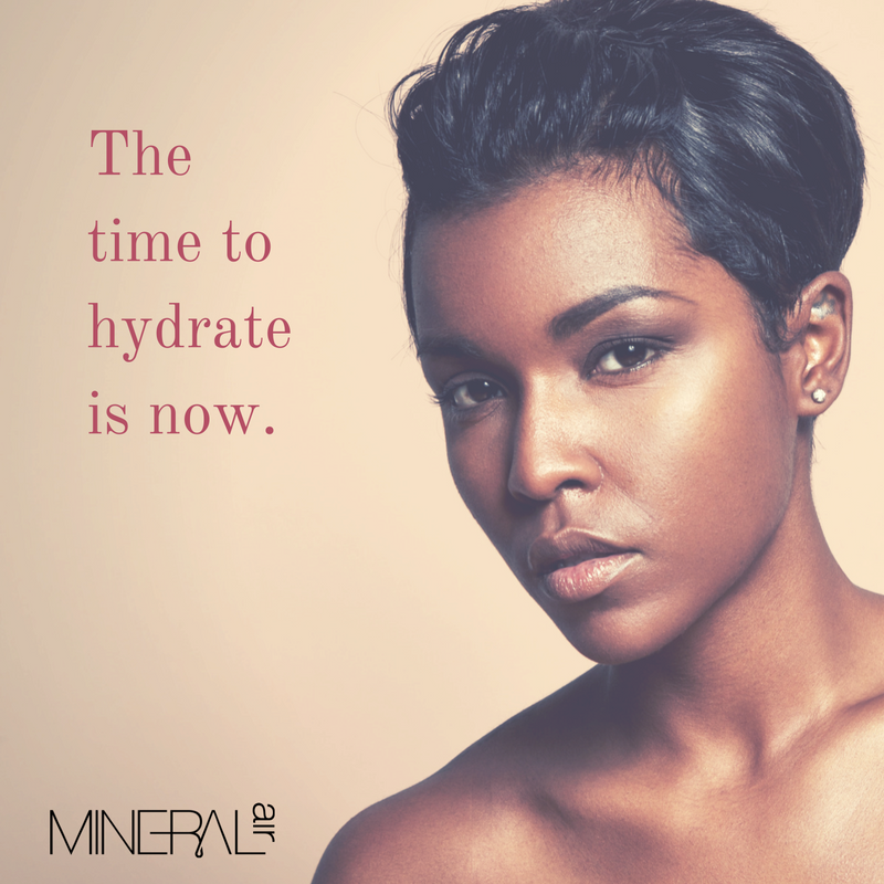 Don't let dry, winter air wreak havoc on your skin. Adopt a #MineralAir morning routine to get an early start combatting dry #winterface with the power of a 4-in-1 foundation that primes, conceals, covers, AND moisturizes! #healthymakeup #skinhealth #airbrushmakeup