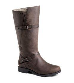 What a rich color! Teva De La Vina riding style boot