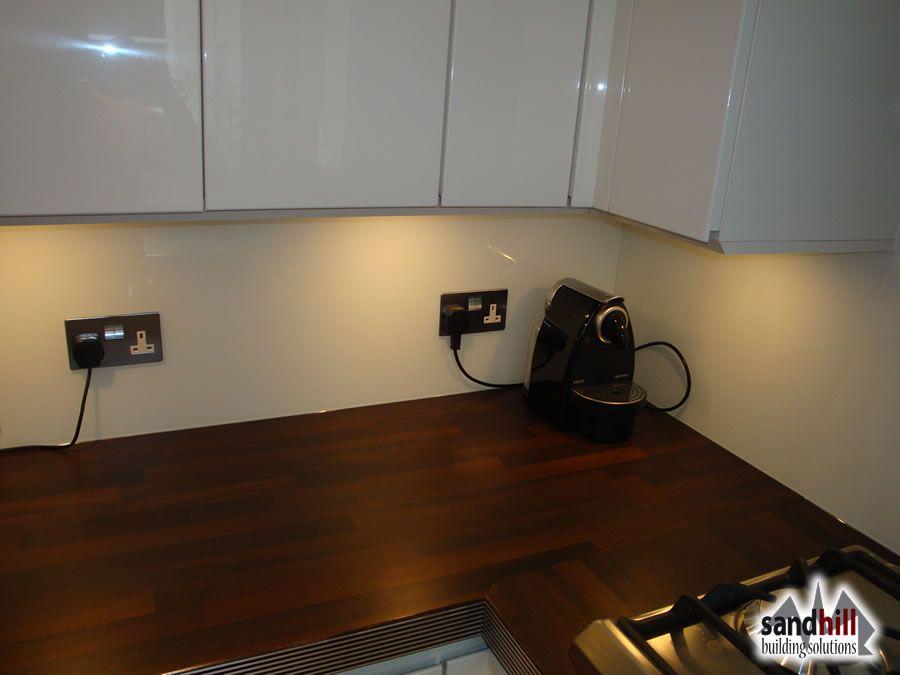 White Kitchen Units Wood Worktop image result for white units dark worktop.dark wood floor.kitchen