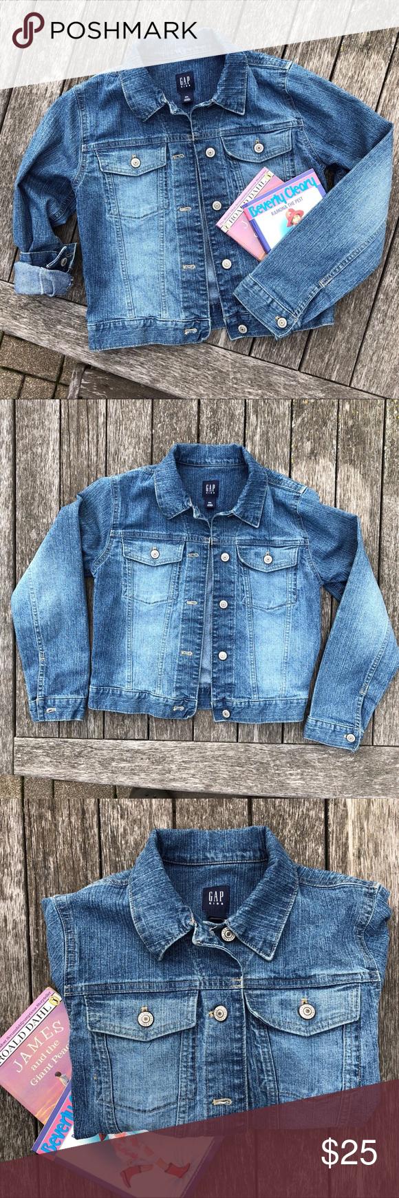 Gap Kids Xxl Jean Jacket Kids Jeans Jacket Clothes Design Fashion [ 1740 x 580 Pixel ]