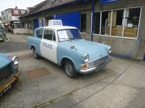 Original Ford Anglia As Used In Heartbeat Tv Series Goathland
