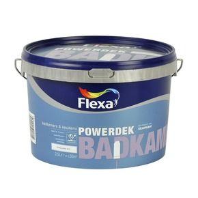 flexa powerdek muurverf badkamer en keuken stralend wit 2 in de, Badkamer