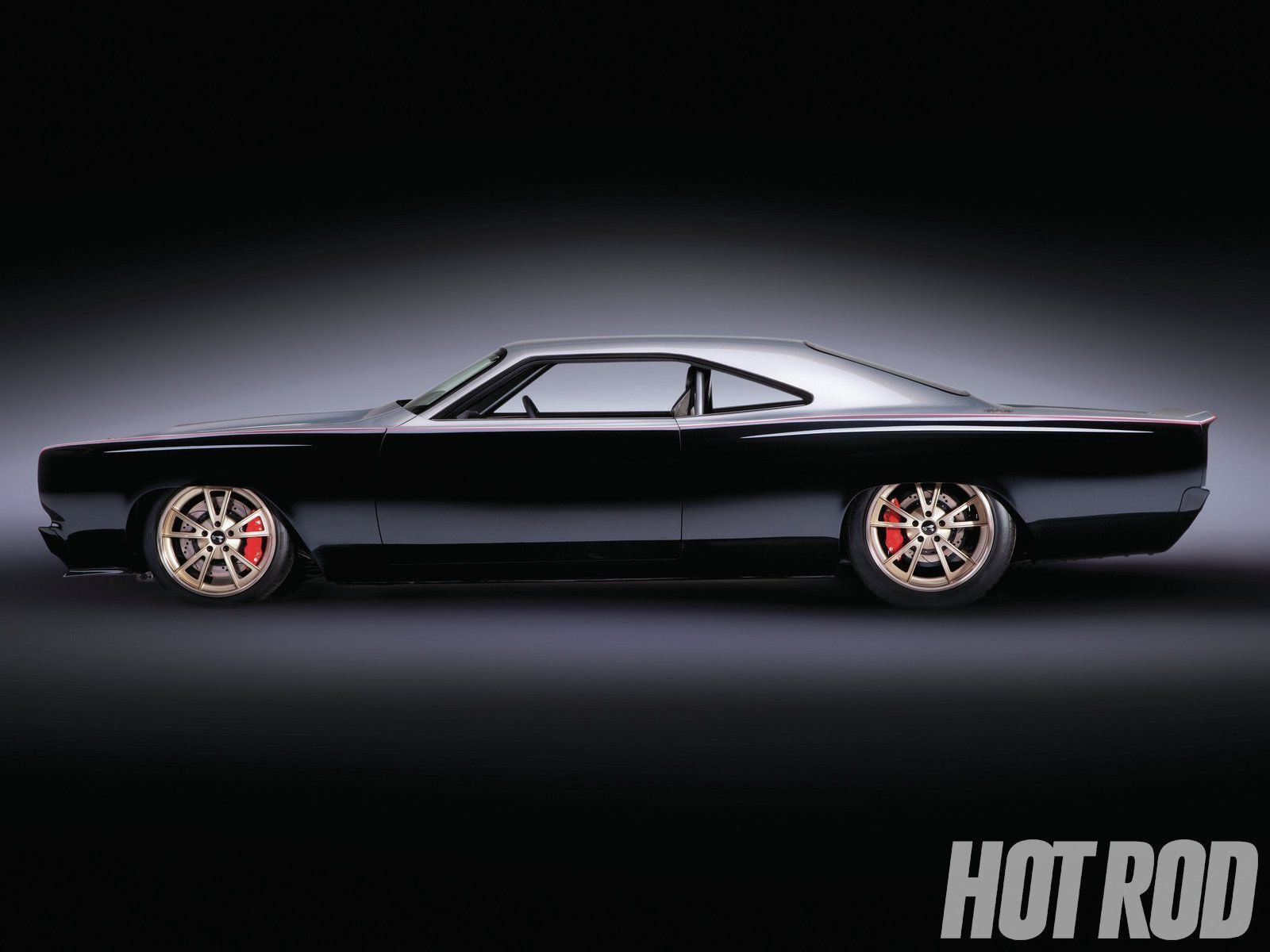 1969 Plymouth Roadrunner hot rod This is a beautiful modern