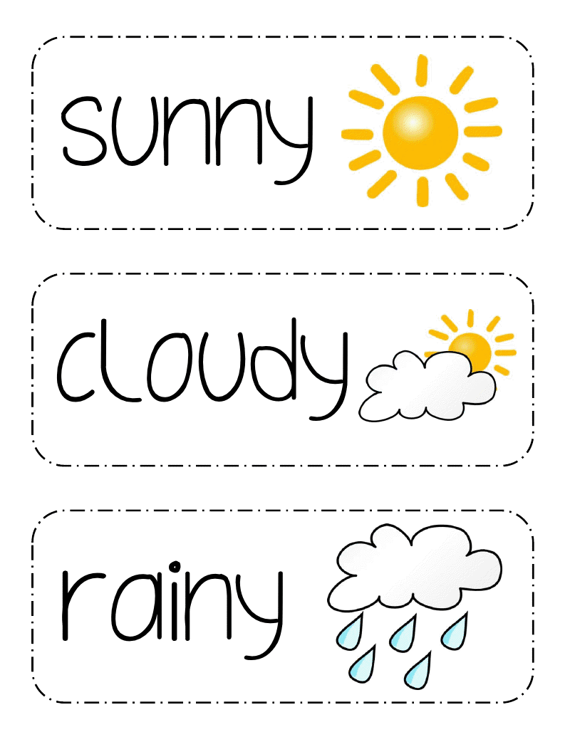 Blog About Living The Life Of A Teacher Printables Ideas And Fun Photos To Enjoy And Learn From Preschool Weather Teaching Weather Teaching Life [ 1035 x 800 Pixel ]