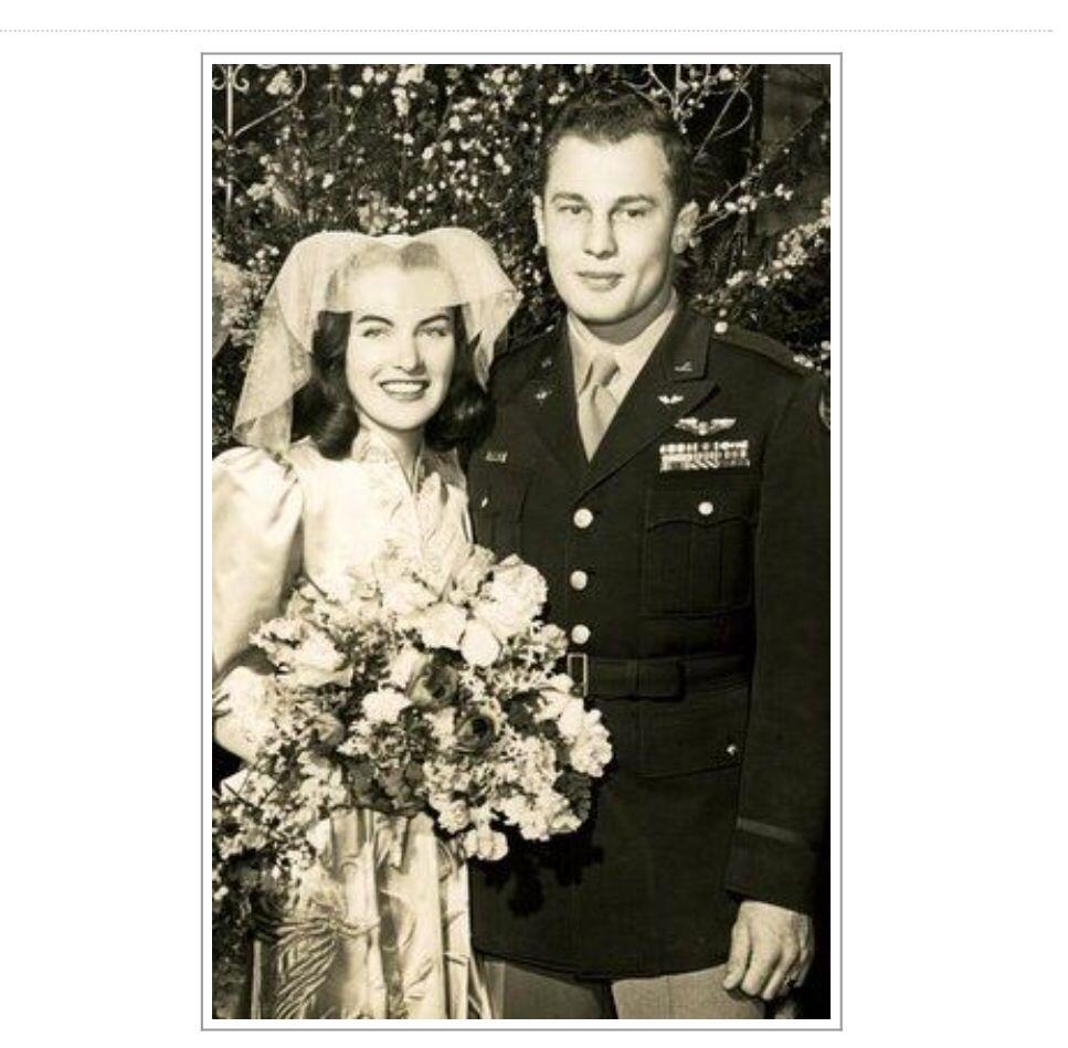Ella Raines And Robin Olds 1947