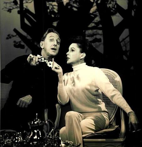 Judy Garland and Ray Bolger