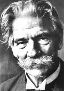 Albert Schweizer - German/French physician, theologian, philosopher & medical missionary In Africa - Nobel Peace Prize/1952