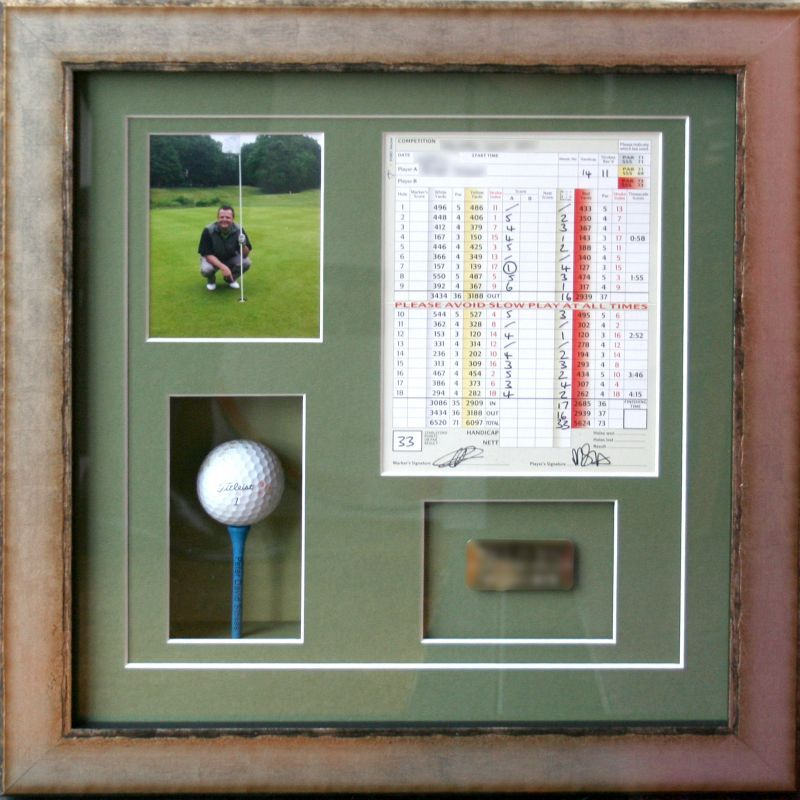 Very Special Hole In One Memory Preserved And Ready To Display With Pride For Years To Come That What Great Golf Club Art Golf Decor Custom Picture Frame