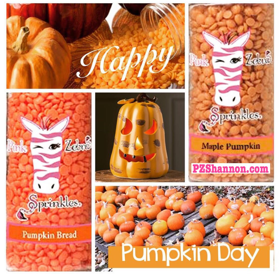 PZSHANNON.com  Happy Pumpkin Day-Pumpkin Bread, Pumpkin Amber, & Maple Pumpkin-