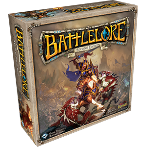 Prepare for fantasy battles beyond your wildest imagination with the onslaught of BattleLore Second Edition. Set in the fantasy realm of Terrinoth, BattleLore Second Edition is a two-player board game focused on squad-based battles between the hardy defenses of the Daqan Lords garrison in Nordgard Castle and the unleashed ferocity of the demon-worshipping Uthuk Y'llan. You must strategically command your troops and use the power of lore to tip your battles in your favor. In every game, you…