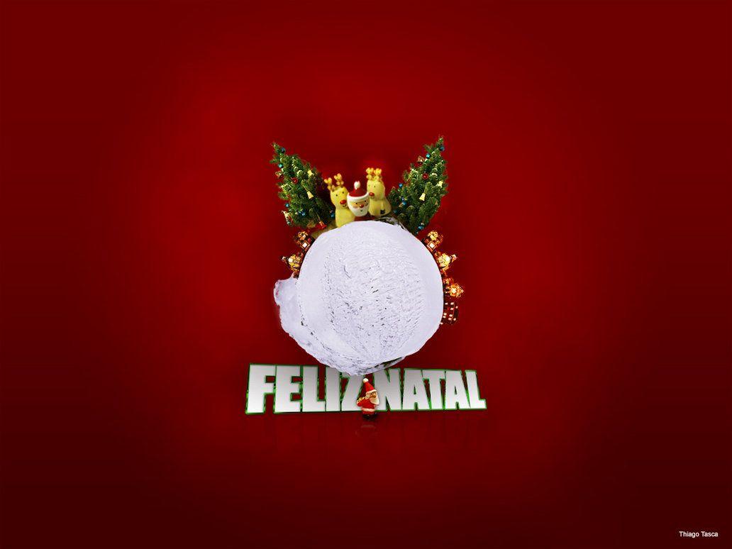 Wallpaper iphone natal - Feliz Natal Wallpaper Background
