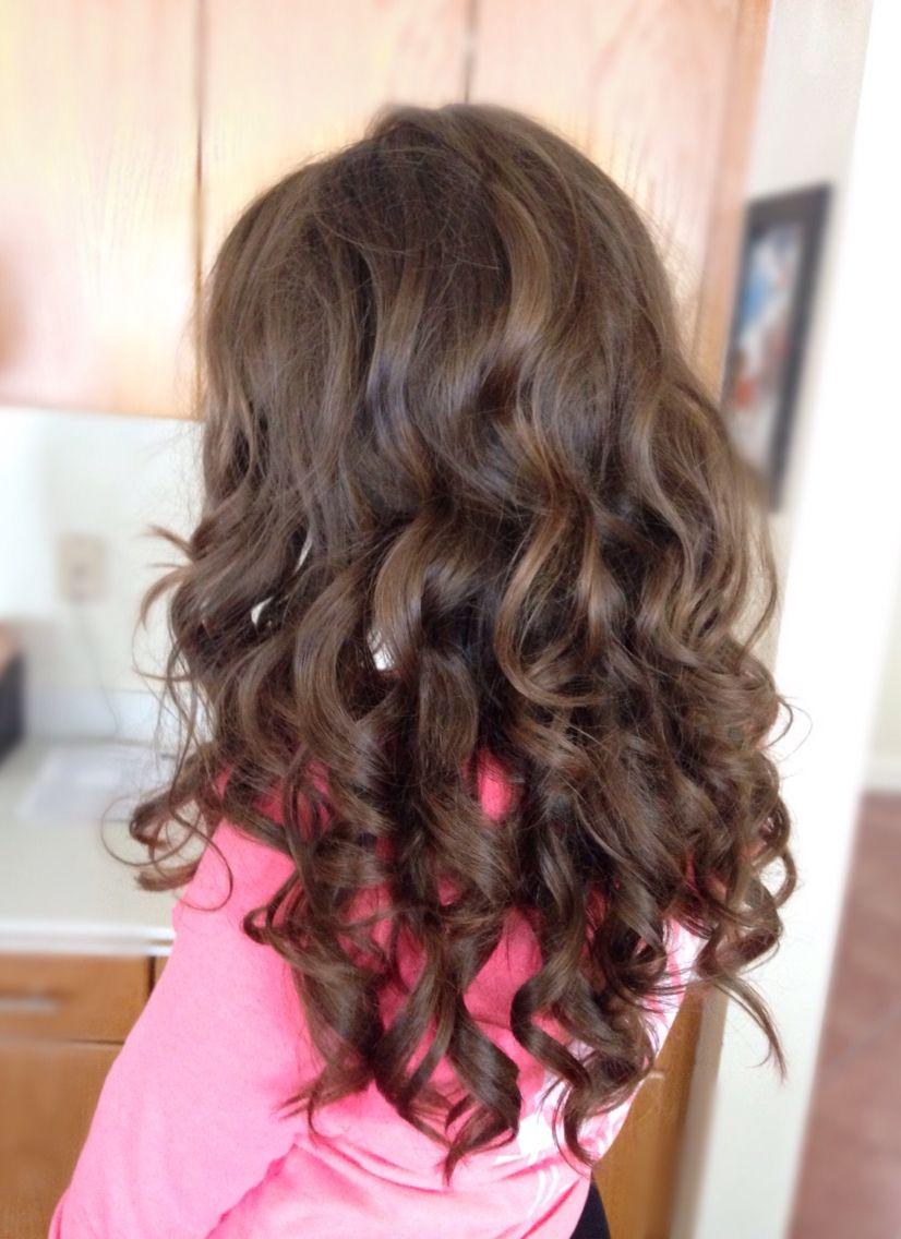 big full curls