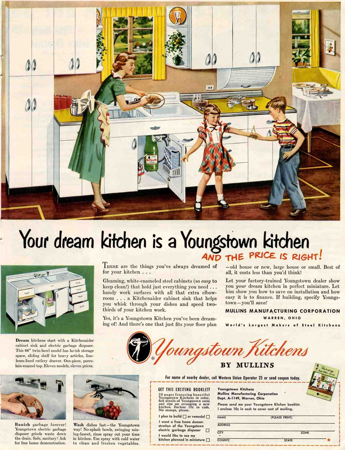 18 Kitchens Bathrooms And Bedrooms From 1949 Youngstown Domestic Engineer St Charles