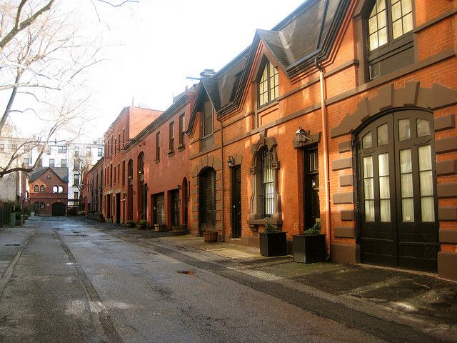 Marvelous Grace Court Alley Carriage Houses   Brooklyn Heights