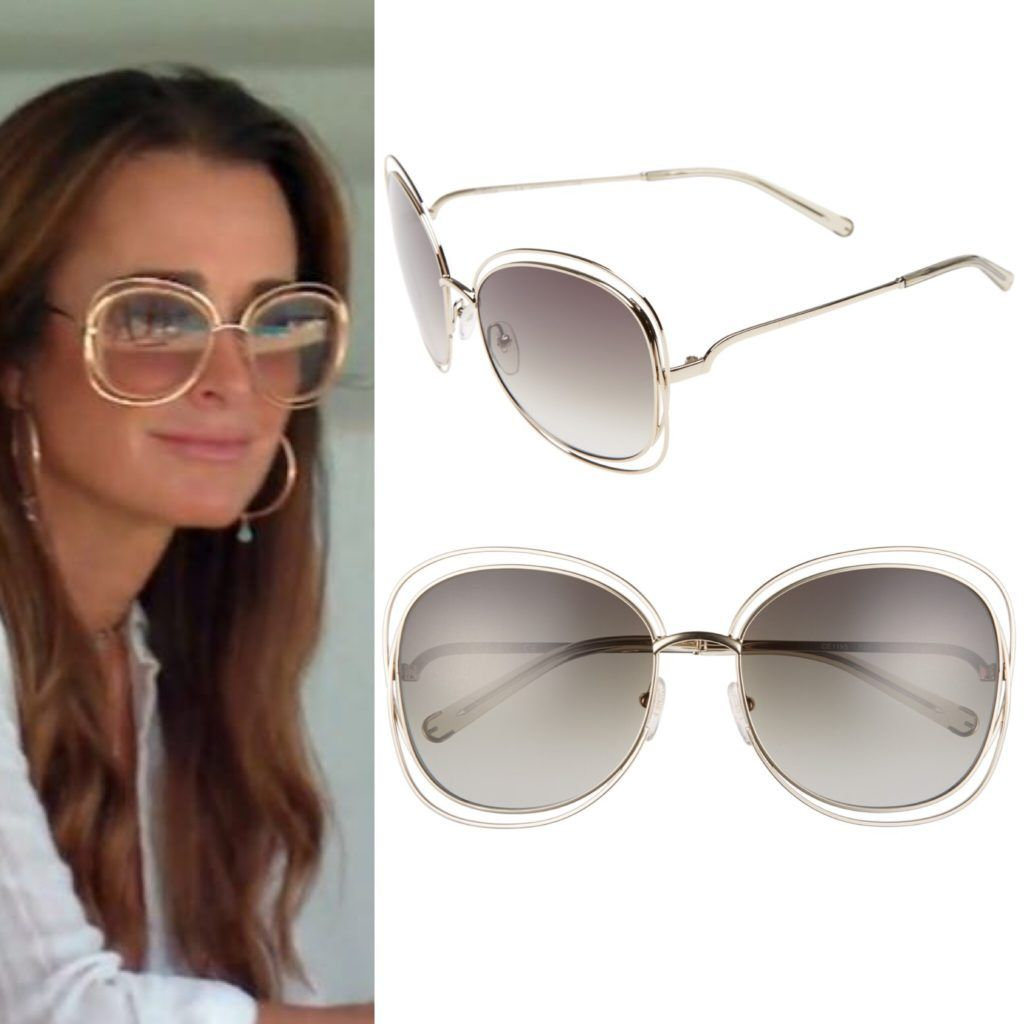 Kyle Richards' Sunglasses in Greece with Erika Girardi Season 7 Episode 7  Real Housewives of