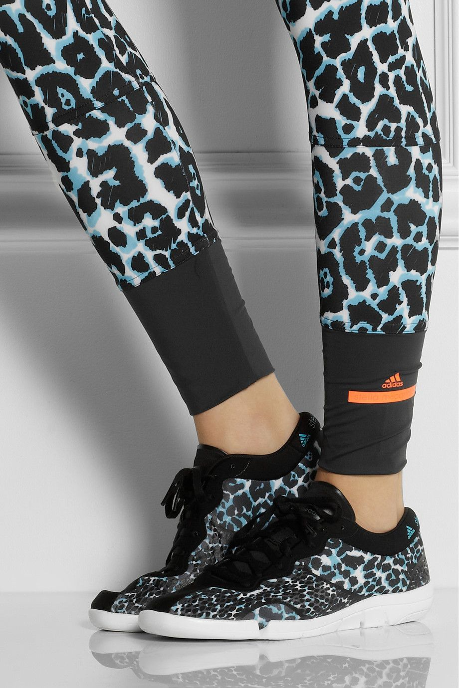 Adidas by Stella McCartney | Ararauna Dance leopard print