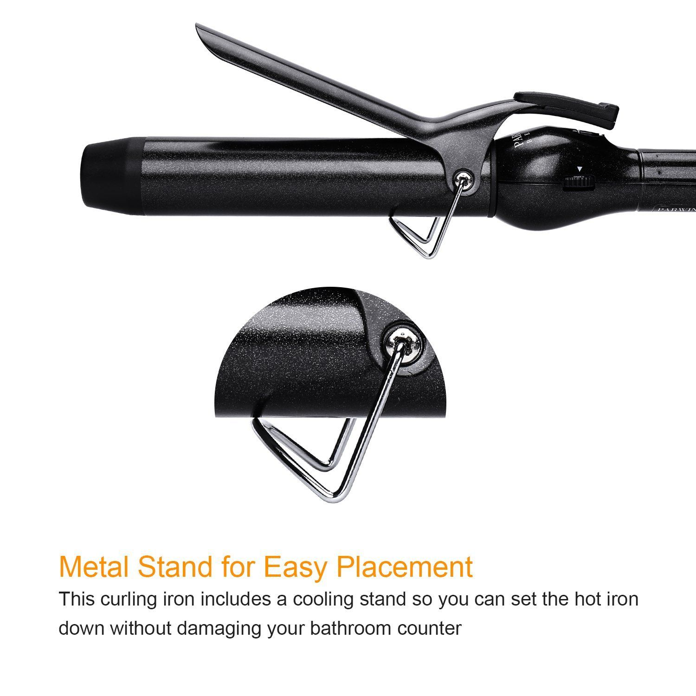 PARWIN PRO mm Hair Curler LED Light Curling Irons Temperature