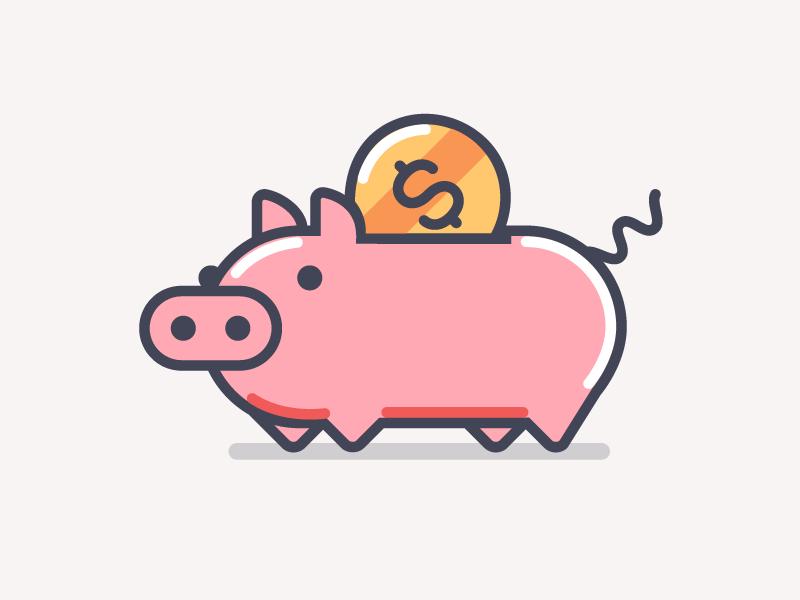 Piggy Bank Piggy Bank Piggy Pig Illustration