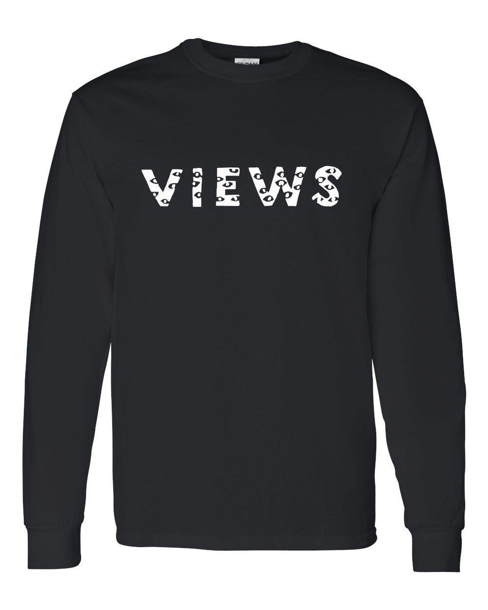 0a5a6c233eb5 Drake Summer Sixteen Tour Official Views Logo Tee Ovo Long Sleeve Shirt  Eyes by ArtsByBlanco on Etsy