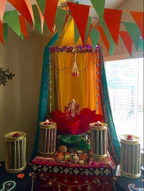 innovative ganpati decoration ideas for home simple